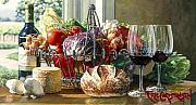 Reflection Harvest Paintings - Sonoma Kitchen by Eric Christensen