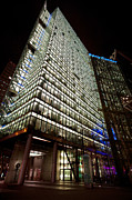 Sony Prints - Sony Center at Night Print by Mike Reid