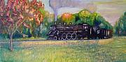 Coal Train Originals - Soo Line 736 by Daniel W Green