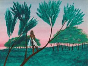 Soon... A Sunrise... Print by Robert Meszaros