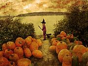 Soon Halloween Print by Anastasia Michaels