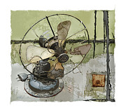 Antique Fan Prints - Sooo Cool  Print by Bob Salo