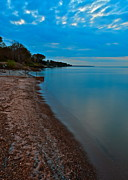 Soothing Shoreline Print by Frozen in Time Fine Art Photography