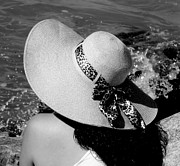 Straw Hats Photos - Sophia by Karen Wiles