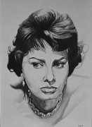 Loren Prints - Sophia Loren Print by Steve Hunter
