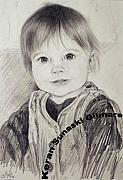 People Drawings Originals - Sophie by Keran Sunaski Gilmore