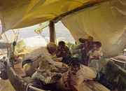 1898 Photos - Sorolla: La Comida, 1898 by Granger