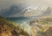 Fishing Painting Prints - Sorrento Print by JB Pyne