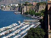 Seaport Prints - Sorrento Seaport Print by Mindy Newman