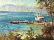 Realist Pastels - Sorrento Summer by Pamela Pretty