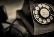 Vintage Telephone Photos - Sorry Wrong Number by June Marie Sobrito
