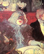 Henri De Toulouse-lautrec Paintings - Soubor by Pg Reproductions