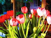 Bdmeredith Prints - Souhas Tulips Print by Brian D Meredith