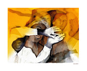 Gospel Digital Art Prints - Soul Brothers Print by Bob Salo