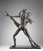 Original Sculpture Prints - Soul Dance- Back View Print by Eduardo Gomez