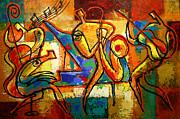 Soul Jazz Print by Leon Zernitsky