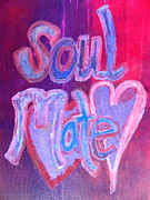 Oracle Paintings - Soul Mate by Kat Kemm