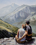 National Park Paintings - Soul Mates by Mary Giacomini