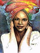 African American Metal Prints - Soul Of A Woman   Metal Print by  Albert Fennell