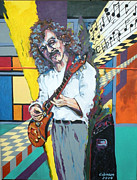 Carlos Santana Paintings - Soul Sacrifice by Chuck Jensen
