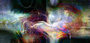 Space Art Digital Art - Soul Vibes by Linda Sannuti