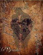 Hold Digital Art Posters - Soulful Embrace of Love Poster by Greg Sharpe