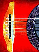 Strings Digital Art Posters - Sound Hole Poster by Peter  McIntosh