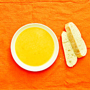 Home Made Food Photos - Soup by Tom Gowanlock
