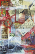 Central America Mixed Media - South and Central America by Leigh Banks