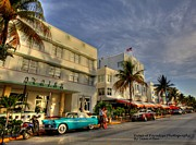 Collins Avenue Prints - South Beach Park Central Hotel Print by Sean Allen
