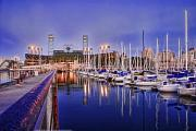 Boats Docked Prints - South Beach San Francisco - Victors Boat Print by Rich Beer