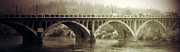 Rural Framed Prints Prints - South Bridge  Print by Jerry Cordeiro