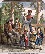 African American Family Prints - South Carolina: Slavery Print by Granger