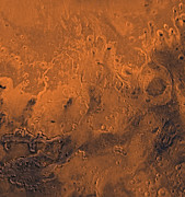 Astrogeology Photos - South Chryse Basin Valles Marineris by Stocktrek Images