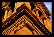 South Corner Of St. Francis Cathedral Print by Susanne Still