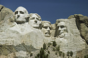 Prime Ministers Posters - South Dakotas Famed Mount Rushmore Poster by Wolcott Henry