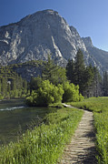 Kings Canyon National Park Posters - South Fork Kings River With Zumwalt Poster by Rich Reid