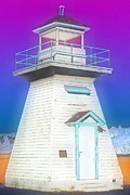 South Hamton Lighthouse 3 Print by Cyryn Fyrcyd
