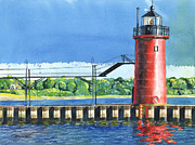 LeAnne Sowa - South Haven Lighthouse