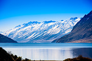 South Island Lake Wanaka New Zealand Print by John White