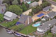 Photo Flights Art - South Lagoon House Mantoloking New Jersey II by Duncan Pearson