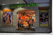 Knick Knacks Posters - South Of Gate C6 Poster by Paulette Wright
