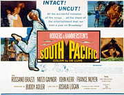 Gaynor Framed Prints - South Pacific, Mitzi Gaynor, 1958 Framed Print by Everett