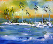 Patricia Taylor Art - South Pacific by Patricia Taylor