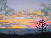 Cloudscape Pastels - South Pacific Sunrise by Deborah Farley