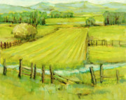 Wyoming Paintings - South Park Wyoming by Steve Spencer