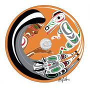 Canadian Indian Art Paintings - South Salish by Darlene Gait