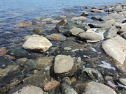 Pebbles Photos - South Sauble Shore by Merv Scoble