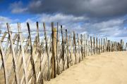 Sand Fences Photos - South Shields, Tyne And Wear, England by John Short