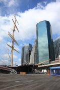 State - South Street Seaport - New York City by Frank Romeo